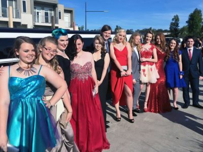 Debutantes Ball Limo Hire -